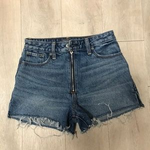 Abercrombie & Fitch High Rise Girlfriend Shorts